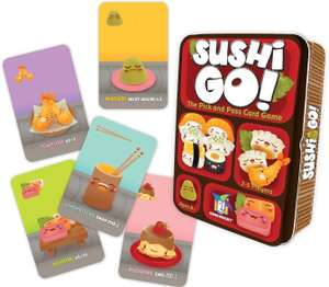 Sushi Go! Card Game at Amazon £7.99 Prime (+£3.49 non Prime)