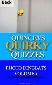 Quincey's Quirky Quizzes - Photo Dingbats Volume 1 Free at Amazon Kindle