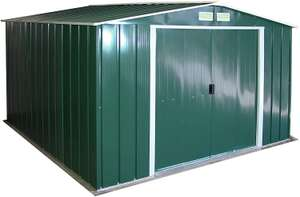 Duramax ECO 10' x 10' Hot-Dipped Galvanized Metal Garden Shed £356.81 at Amazon