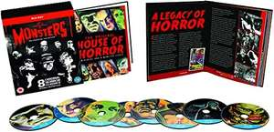 Universal Classic Monsters - The Essential Collection [Blu-ray] [1931] [Region Free] £11.99 (+£2.99 Non Prime) @ Amazon