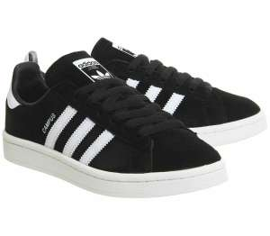 Adidas Campus Black / White (Sizes 7.5 / 8.5 / 9.5) £38.50 Delivered Office eBay
