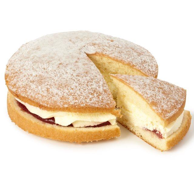 Morrisons Fresh Cream Sponge Cake Half Price £1.00 Instore
