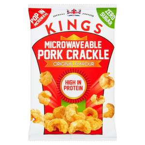 Kings Microwaveable Pork Crackle Original Flavour 35g 20p instore @ Sainsbury's Angel London