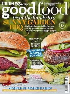 BBC Good Food Magazine Subscription - 5 Issues For £5 Direct Debit