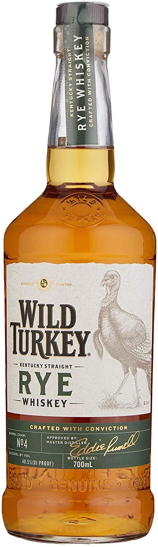 Wild Turkey Kentucky Rye Whiskey, 70 cl £23.50 @ Amazon