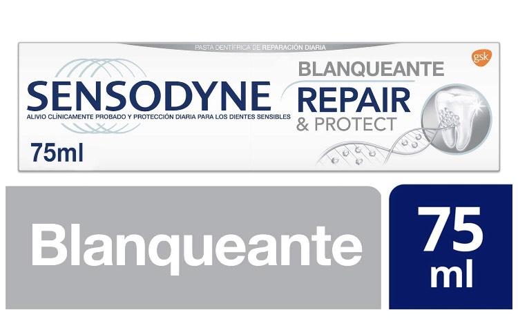 SENSODYNE Toothpaste repair and Protect Whitening 75 ml £3 (+£4.49 Non Prime) @ Amazon