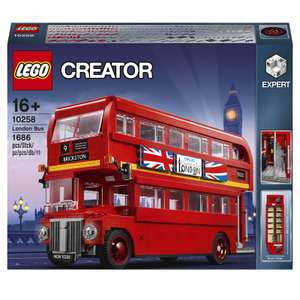 Lego Creator Expert London bus £99.99 + Free Delivery from I Want One of Those