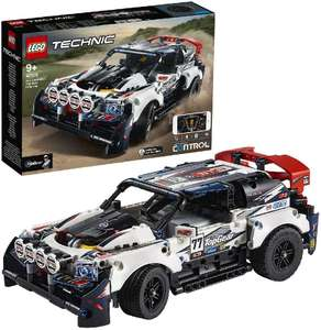 LEGO 42109 Technic CONTROL+ App-Controlled Top Gear Rally Car RC Racing Cars £100 at Amazon