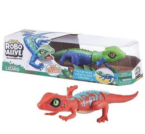 Robo Alive Indo-Chinese Lurking Lizard Battery-Powered Robotic Toy by ZURU @ Amazon delivered £4.88 (prime) USED LIKE NEW £9.37 non prime