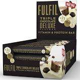 Fulfill Triple Chocolate Deluxe Vitamin & Protein Bar - 29p each or 5 for £1 Instore @ Heron Foods (Nottingham)