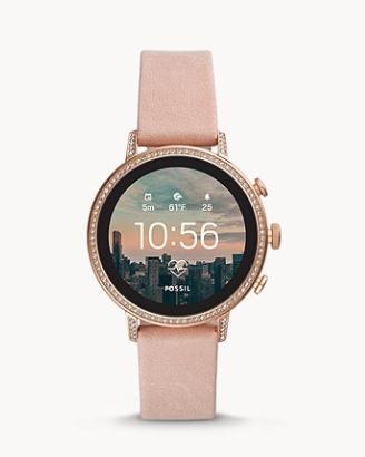 Fossil Gen 4 Smartwatch Venture HR Blush Leather £139 @ Fossil