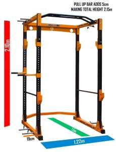Thor Power Cage - Yellow/Black - pre order - £449.99 @ Strength Shop