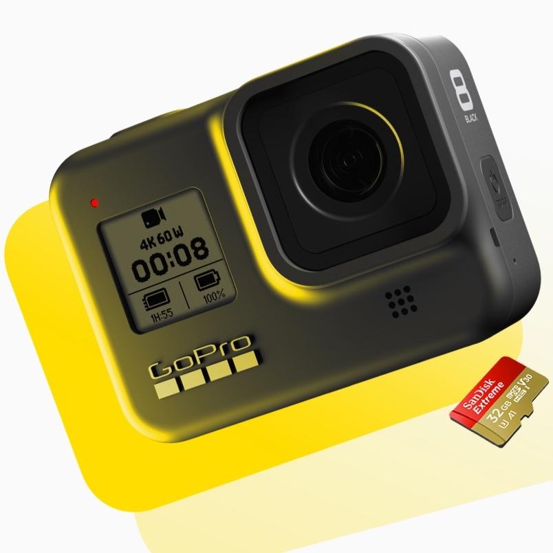 GoPro Hero 8 Black Bonus deal: with free 32GB Micro SDXC - £279.99 @ GoPro Shop