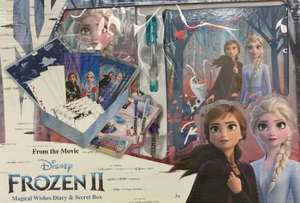 Frozen 2 magical wishes diary & secret box £3.75 Tesco in store Haverfordwest