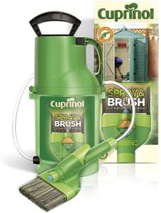 Cuprinol 2 in 1 Spray and Brush Fence Paint Sprayer at Amazon for £25