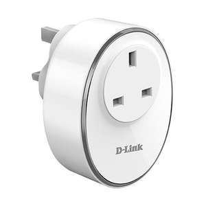 D-Link mydlink Wi-Fi Smart Plug - Works with Amazon Alexa, Google Assistant (DSP-W115) for £10.99 delivered @ MyMemory