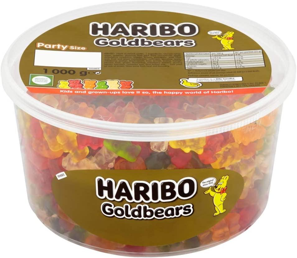 Haribo Gold Gummy Bears - 1kg £7.30 Amazon Prime (+£3.49 non Prime)