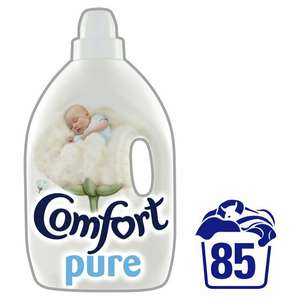 Comfort Pure Fabric Conditioner3L at Morrisons for £3