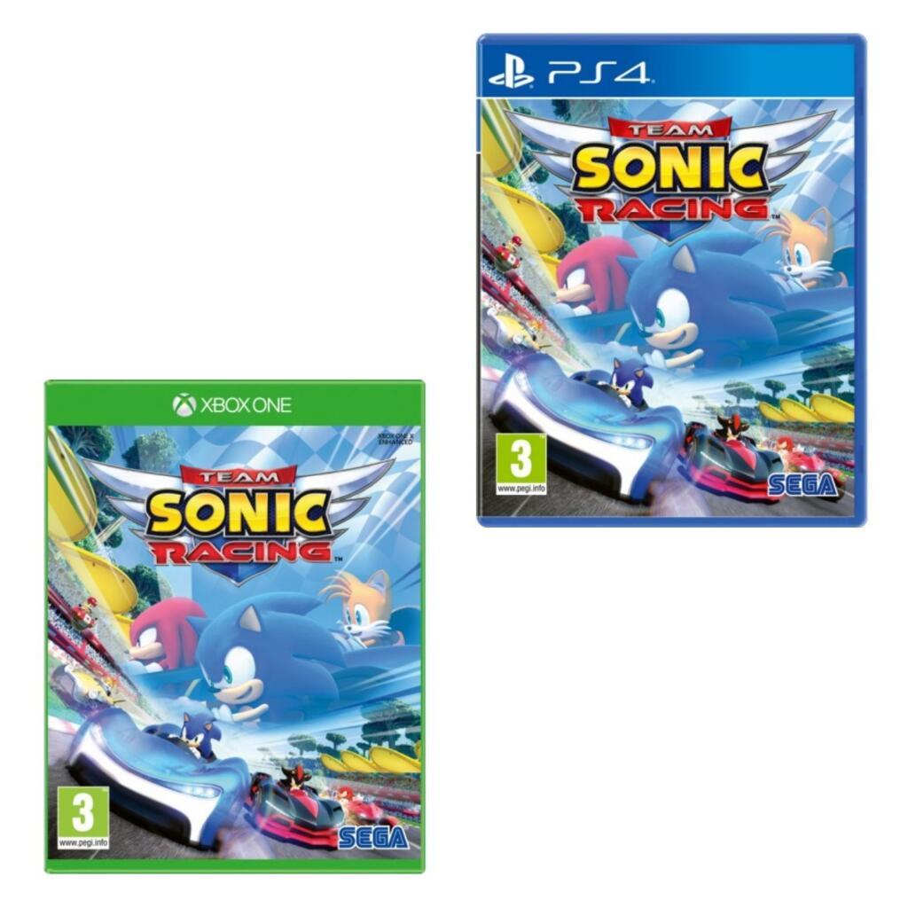 Team Sonic Racing (PS4 / Xbox One) - £16.49 (Prime) / +£2.99 (Non Prime) delivered @ Amazon