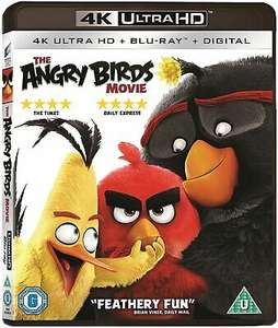 The Angry Birds Movie 4K Ultra HD - Blu-ray £5.99 delivered @ sellersmediastore ebay