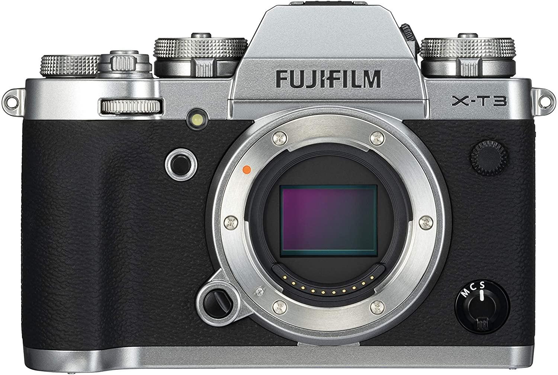 Fujifilm X-T3 Mirrorless Digital Camera, Silver at Amazon sold by Camera Centre UK for £899