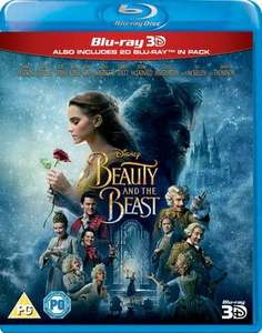 Disney Beauty and the Beast 3D blu ray £6.09 new delivered @ Music Magpie