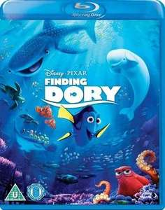 Disney Pixar Finding Dory blu ray £3.69 new delivered @ Music Magpie
