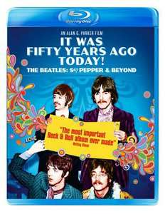 It was 50 years ago today the Beatles Sgt.Pepper and beyond blu ray £3.39 new delivered @ Music Magpie