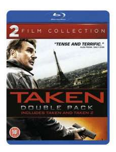 Taken/Taken 2 double pack blu ray £2.89 new delivered @ Music Magpie