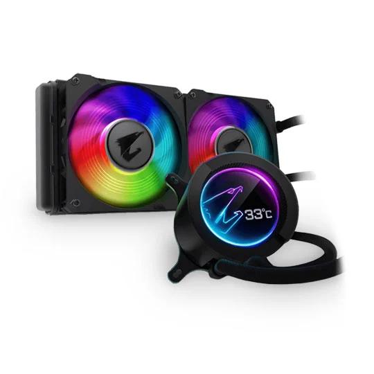 Gigabyte AORUS 280mm LCD ARGB at Scan for £169.49