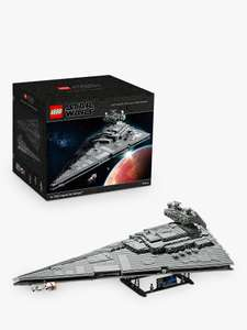 Lego Star Wars 75252 Imperial Star Destroyer at John Lewis & Partners for £549.99