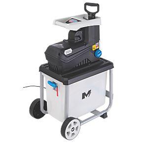 Garden Shredder - Mac Allister MSHP2800D-2 2800W £99.99 @ Screwfix