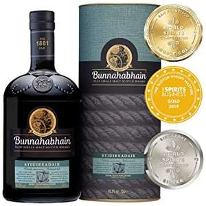 Bunnahabhain Stiuireadair Islay Single Malt Scotch Whisky 70cl - £28.49 S&S @ Amazon