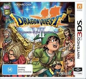 Dragon Quest VII for Nintendo 3DS @ TheGameCollection/eBay - £14.99