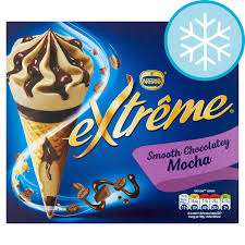 Farmfoods Chelmsford: Nestle extreme mocha cones £1