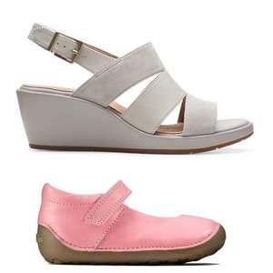 Clarks Sale - Up To 50% Off + Extra 20% Off if buying a 2nd Sale Item (+£3.95 delivery)