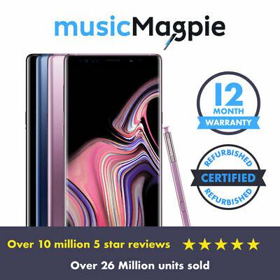 Samsung Galaxy Note 9 - 128GB - Unlocked - Very Good Condiiton £269.99 @ music magpie / eBay