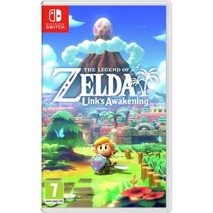The Legend of Zelda: Link's Awakening (Pre-owned) (Nintendo Switch) - £26.90 (with code) @ MusicMagpie eBay