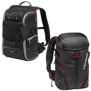 Manfrotto MB MA-BP-TRV Advanced Travel Camera Backpack / MB OR-ACT-BP Action Cam Backpack - £47.20 Each Using Code @ eBay / cameracentreuk