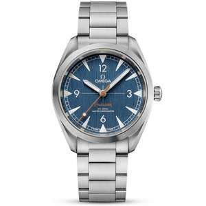 Omega Seamaster Railmaster 40mm blue dial watch £3170 delivered at Berrysjewellers