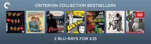 2 for £25 on Criterion Collection films @ Zoom