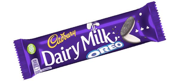 5 x 41g Cadbury Dairy Milk Oreo Bar. (205g) £1. Heron Foods Smallthorne.