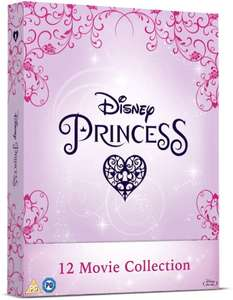 Disney Princess Complete Collection Limited Edition Blu-Rays - Includes Book, Poster + Exclusive Mediabook Art Designs. £49.99 @ Zoom UK