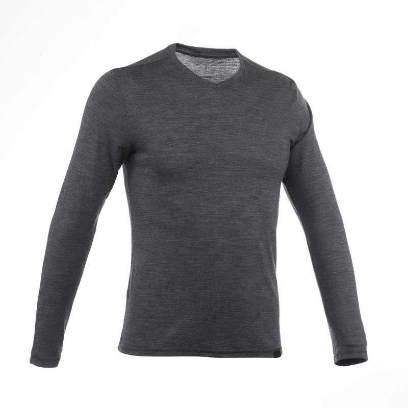 Long sleeve merino wool shirt £9.99 + £4.99 del at Decathlon