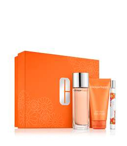 Clinique Perfectly Happy 50ml Gift Set & Free Delivery £29.33 at Clinique Shop