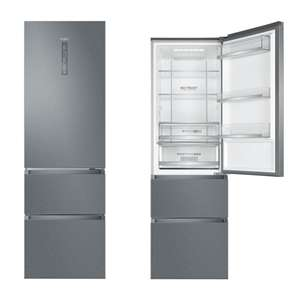 Haier A3FE635CMJ 60/40 Stainless Steel Inox No Frost 60cm Fridge Freezer With 2 Year Warranty - £399 Delivered @ Crampon & Moore