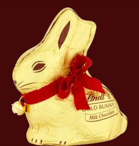 Lindt 70% off Easter sale e.g. Lindt Gold Bunny Milk 100g 90p (Minimum order £20 with shipping £3.95, or free delivery over £50)