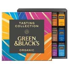 Green & Blacks Organic Tasting Collection Boxed Chocolates 395G £8 @ Tesco (Min basket £40 + up to £4 delivery)