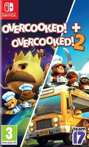 Overcooked! + Overcooked! 2 (Nintendo Switch) - £22.36 delivered @ The Game Collection Outlet eBay