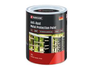 Parkside Anti-Rust 3-in-1 Metal Protection Paint - 1 Litre £4.99 instore @ Lidl Woodgrange Park and Hadleigh